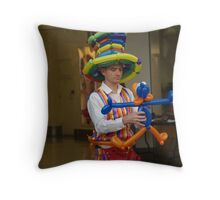 Tailor made with balloons Throw Pillow