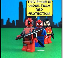 Team Red Protection by LegoLegion