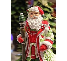 Old Fashioned Santa Claus Photographic Print