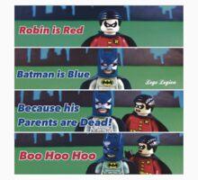 Batman is Blue by LegoLegion