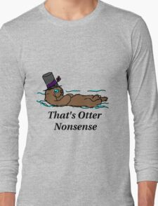 Otter Nonsense Long Sleeve T-Shirt