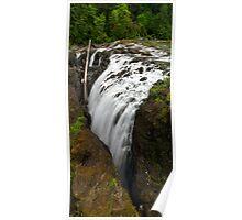 Englishman River Falls Vertical Poster