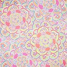 Candyfloss Colored Doodle Pattern by Tangerine-Tane