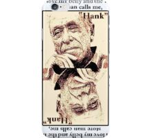 Charles Bukowski. The Ace Of Clubs iPhone Case/Skin