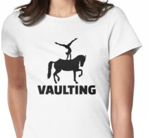 Vaulting Womens Fitted T-Shirt