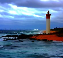 Lighthouse From the Pier by RoryWilson