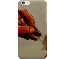 Hand Painted Painted Hand Painting Traditional Painting  iPhone Case/Skin