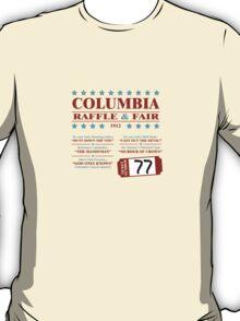 Columbia Raffle Ticket T-Shirt
