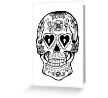 The Smiling Skull Greeting Card