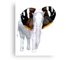 The Butterphant Canvas Print