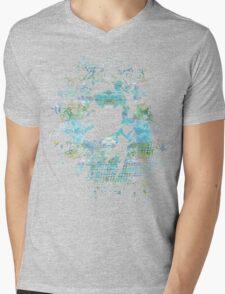 Blue girl Mens V-Neck T-Shirt