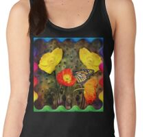 Yellow and Red Poppies  Women's Tank Top