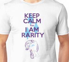Keep Calm for I am rarity  Unisex T-Shirt