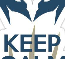 Keep Calm Bub Sticker