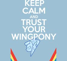 Keep Calm and Trust Your WingPony Unisex T-Shirt
