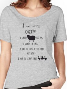 but now - I have to x-ray these geese! Women's Relaxed Fit T-Shirt