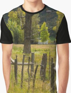 Fence Posts Graphic T-Shirt