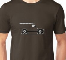 Land Rover Defender 110 XD Tracked Expedition Unisex T-Shirt