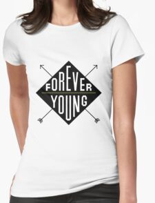 Forever Young - Black  T-Shirt