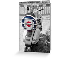Red White & Blue Greeting Card