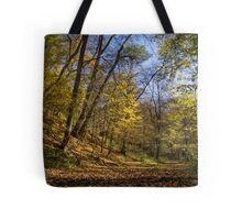 walking on the forest Tote Bag