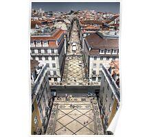 Rua Augusta - Lisbon Poster