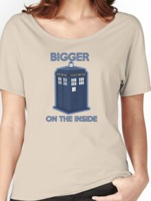 Bigger on the Inside Women's Relaxed Fit T-Shirt