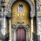 Doorway into Pena Palace - Sintra by benjamin-hodges