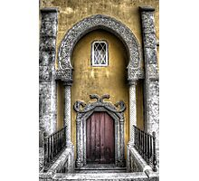Doorway into Pena Palace - Sintra Photographic Print