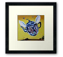 'Tea in Flight' Framed Print