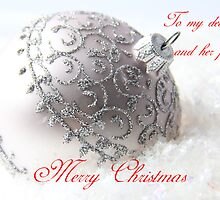 Merry Christmas to my sister by ©Josephine Caruana
