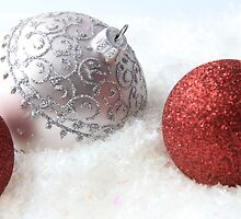 Red and White Christmas by ©Josephine Caruana