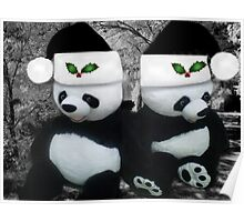 。◕‿◕。 PANDAS SPREADING CHEER AND JOY 。◕‿◕。  Poster
