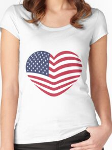 PATRIOT Women's Fitted Scoop T-Shirt