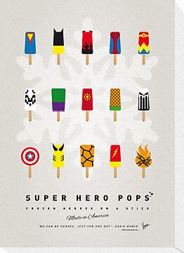 My SUPERHERO ICE POP UNIVERS by Chungkong