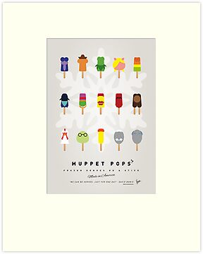 My MUPPET ICE POP - UNIVERS by Chungkong