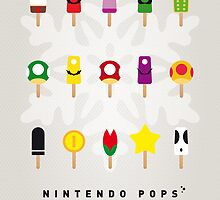 My MARIO ICE POP - UNIVERS by Chungkong