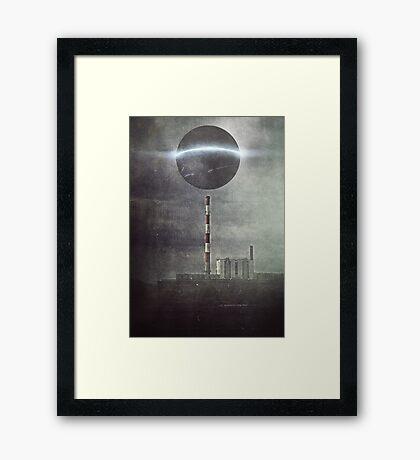 Neon dream 2905 Framed Print