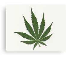 """""""Take a leaf out of my book"""" God. Canvas Print"""