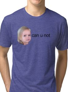 Chloe from Vine Tri-blend T-Shirt