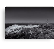 lighthouse on the vineyard Canvas Print