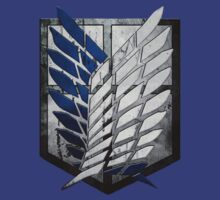 Survey Corps. Attack on Titan Emblem by CrimsonGem
