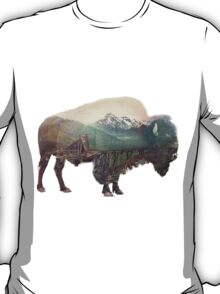 Bison and Independence Mine T-Shirt