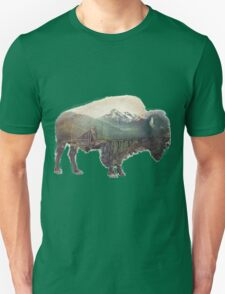 Bison and Independence Mine Unisex T-Shirt
