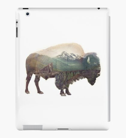 Bison and Independence Mine iPad Case/Skin