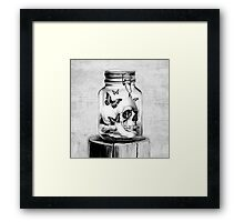 Lost Thoughts Framed Print