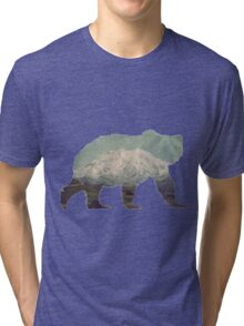 Denali Bear Tri-blend T-Shirt