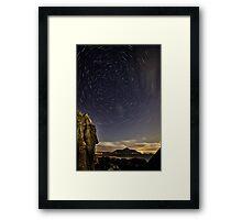 While the Earth Sleeps Framed Print