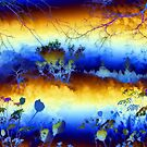 My blue heaven'... by Valerie Anne Kelly