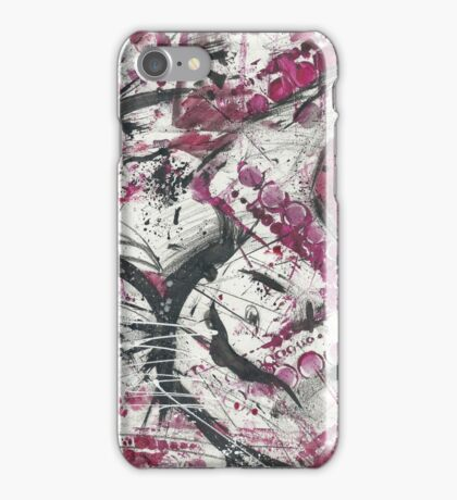 Red World Abstract Design iPhone Case/Skin